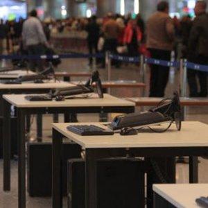 Atatürk havalimanında hazırlıklar başladı