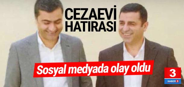 Selahattin Demirtaş'ın cezaevi fotoğrafı olay oldu