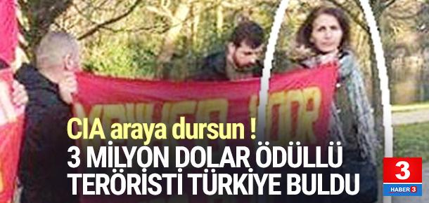 ABD'nin başına ödül koyduğu teröristi Türkiye buldu