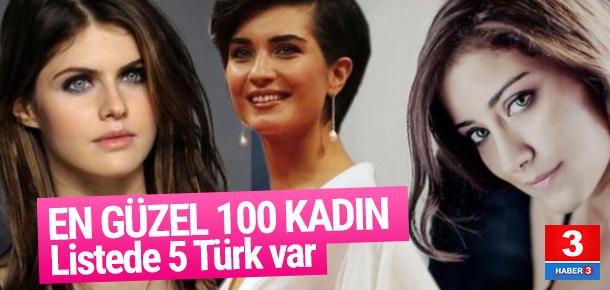 İşte 2016'nın en güzel 100 kadını ! Listede 5 Türk var