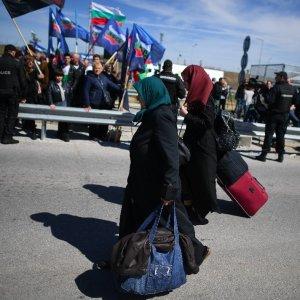 Türkiye'den Bulgaristan'a geçişler başladı