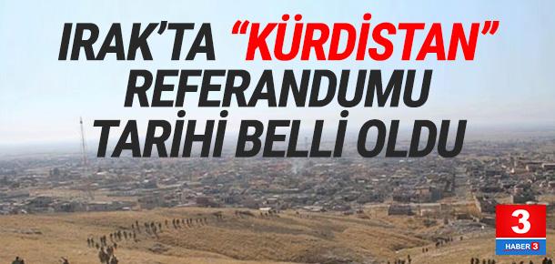 Kürtlerin bağımsızlı referandum tarihi belli oldu