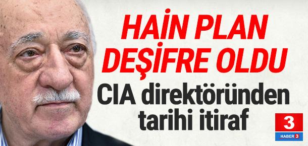 Eski CIA direktöründen bomba Gülen iddiası