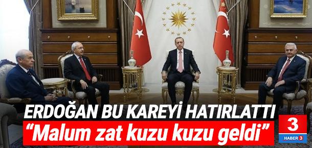 Cumhurbaşkanı Erdoğan'dan şok 'Kılıçdaroğlu' çıkışı