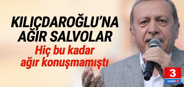 Erdoğan: Kılıçdaroğlu sen yalan makinesisin