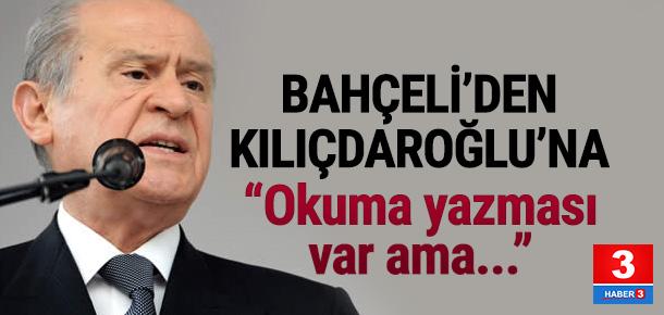 Bahçeli'den Kılıçdaroğlu'na sert sözler