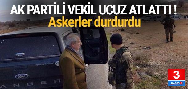 AK Partili vekilin güzergahında mayın alarmı