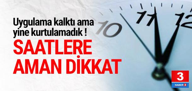 Avrupa yaz saatine geçti, Türkiye'de saatler şaştı