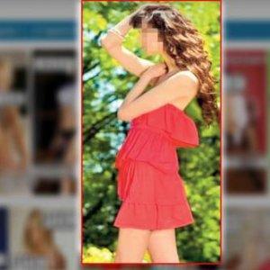 Ukraynalı modele ''eskort kız'' şoku !