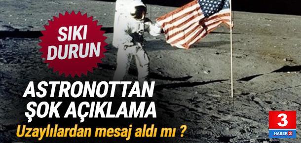 NASA astronotundan 'dünya dışı yaşam' açıklaması