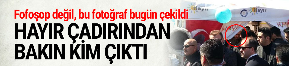 Cumhurbaşkanı Erdoğan ''Hayır'' çadırında
