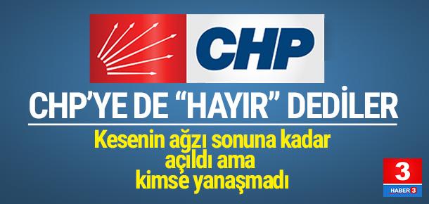 CHP para döktü, yine de kabul etmediler