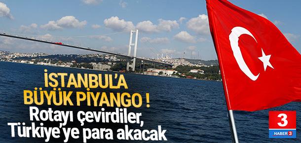İstanbul'a Brexit piyangosu