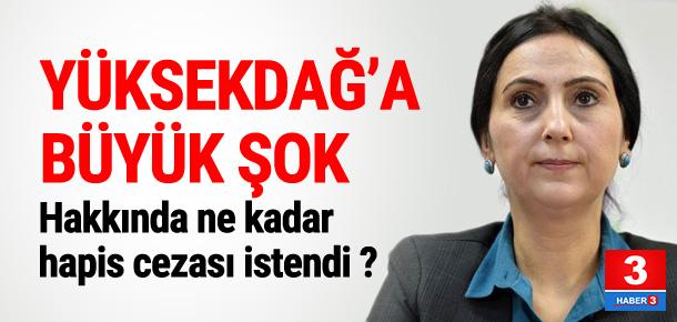 Figen Yüksekdağ'a büyük şok !