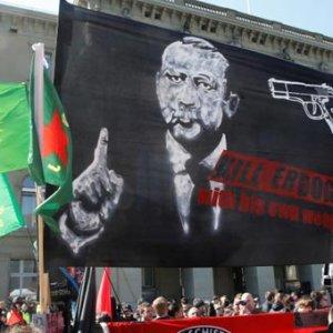 Skandal pankartı açan örgüt belli oldu