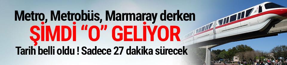 İstanbul'a havaray müjdesi ! Tarih belli oldu