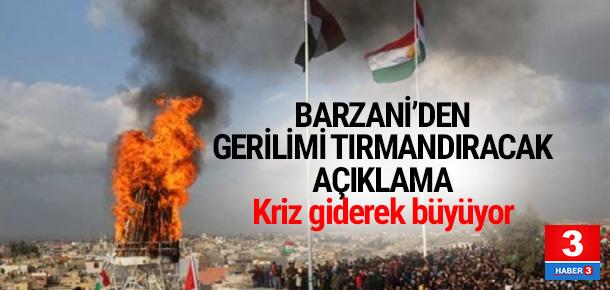 Barzani'den ''Kürdistan bayrağı'' açıklaması