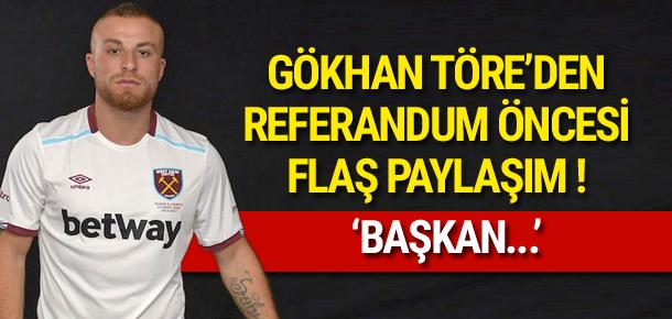 Gökhan Töre'den 'Erdoğan' paylaşımı !