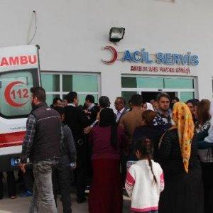 Nusaybin'de patlama ! 2 çocuk ağır yaralı