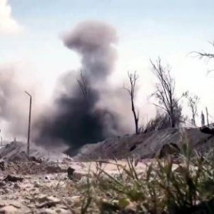 DEAŞ Tabka barajına havanlarla saldırdı