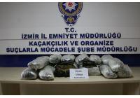 İzmirde Esrar Operasyonu