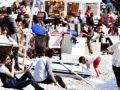 Bodrum'da sıcak hava keyfi