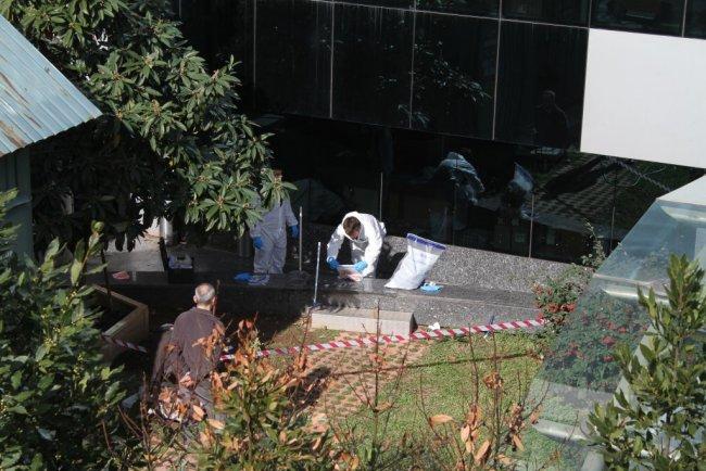 İstanbul'da plazada korkunç ölüm !