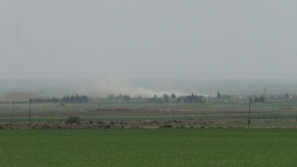 IŞİD hem karadan hem havadan vuruluyor
