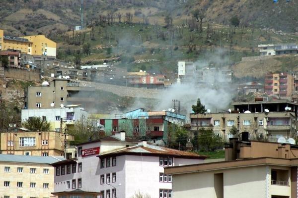 Şırnak'ta Keskin Nişancı Pkk'lılar Hedefte