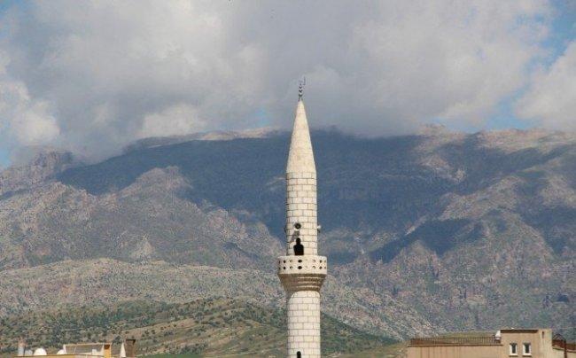 Silopi'de minareden uyarı anonsu yapıldı !
