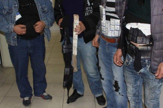 Sigara kaçakçıları pes dedirtti !