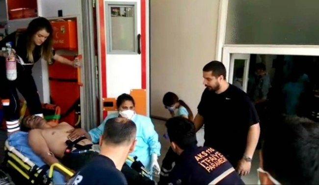 İzmir'de fabrikada korkunç kaza: 6 yaralı var