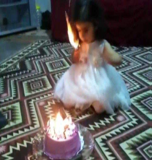 Doğum günü kutlamasında korkunç olay !