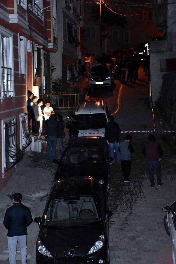 Kağıthane'de 7 araç kundaklandı