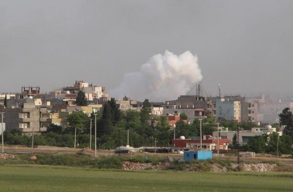 Nusaybin'de patlama sesleri yükseldi !