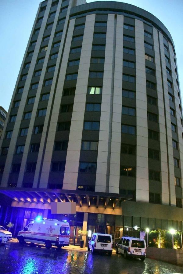 Beşiktaş'ta ünlü otelde feci ölüm