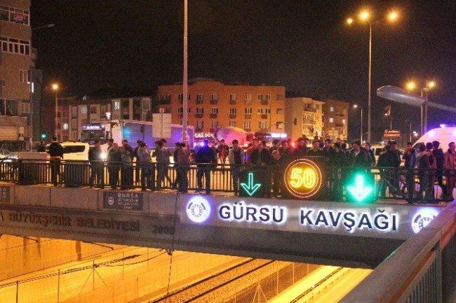 Bursa'da bomba yüklü araç paniği