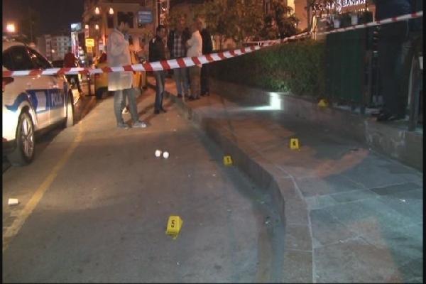 Taksicilerle dolmuşcular kavga etti: 1 yaralı