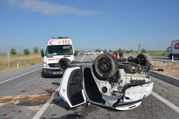 Konya'daki kazada dikkat çeken detay !
