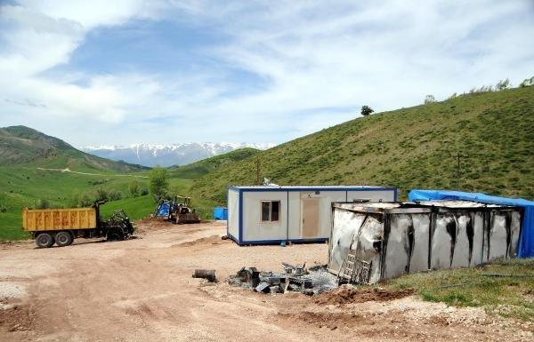 PKK şantiye bastı 3 işçiyi kaçırdı !