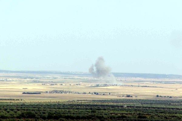 Koalisyon IŞİD'i vuruyor