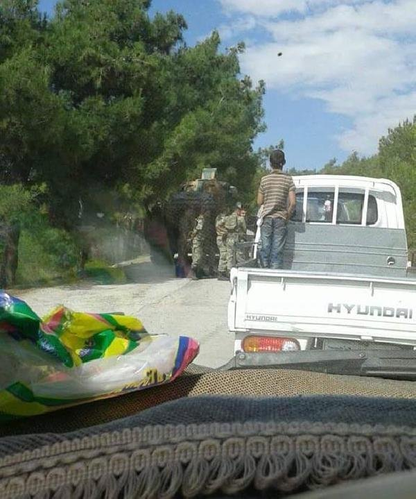 Türk askeri Suriye'ye girdi iddiası