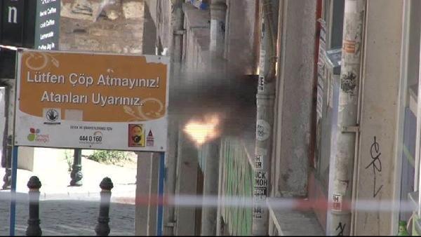 İstanbul'un göbeğinde bomba paniği !