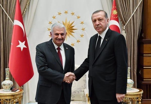 Erdoğan ve Yıldırım'dan kritik görüşme !