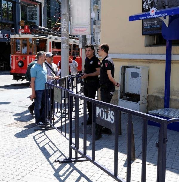 İstikal Caddesi'nde yeni güvenlik önlemi