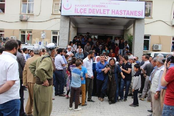 HAKKARİ ŞEMDİNLİ'DEN ACI HABER !