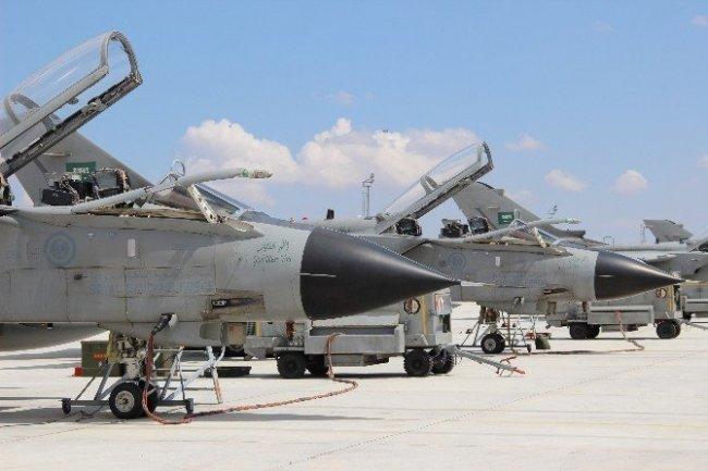 Konya'daki Suudi savaş uçaklarında dikkat çeken detay