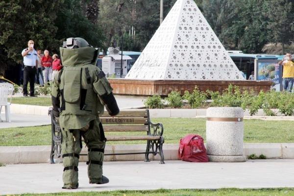 İftar çadırında bomba paniği !