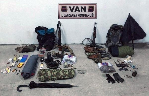 Çaldıran'da 2 terörist öldürüldü