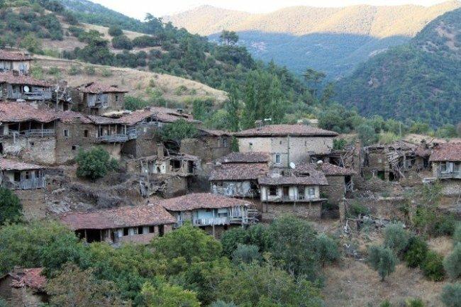 Hayalet köydeki yapılan tescillendi